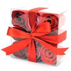 Mydlové Kvety - Červené Ruže