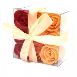 Mydlové Kvety - Broskyňové Ruže