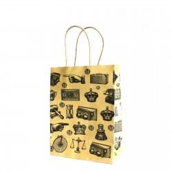 Darčeková taška antik stredná