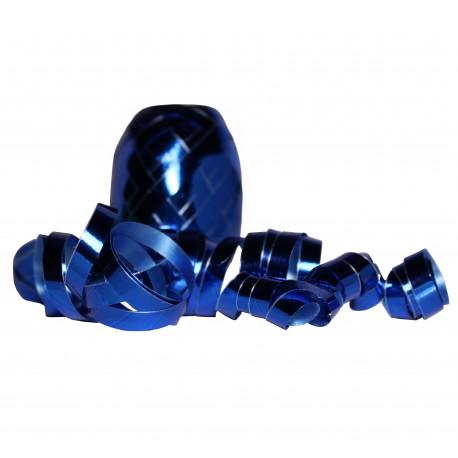 Stuha lesklá - modrá