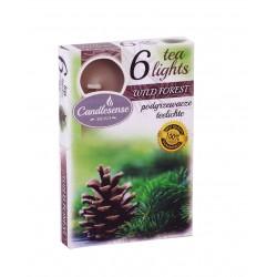 Čajové vonné sviečky (6ks) Les